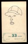 1965 Topps Embossed #33   Zoilo Versalles   Back Thumbnail