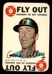 1968 Topps Game Inserts #25    Gene Alley  Front Thumbnail