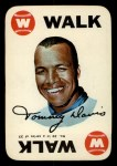 1968 Topps Game Inserts #10    Tommy Davis  Front Thumbnail