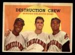 1959 Topps #166  Destruction Crew  -  Minnie Minoso / Rocky Colavito / Larry Doby Front Thumbnail