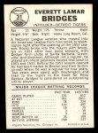 1960 Leaf #31  Rocky Bridges  Back Thumbnail