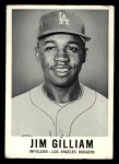 1960 Leaf #18  Jim Gilliam  Front Thumbnail