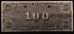 1962 Topps Civil War News Currency #15   $100 Serial #801 Back Thumbnail