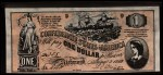 1962 Topps Civil War News Currency #1   $1 Serial #355 Front Thumbnail