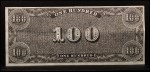 1962 Topps Civil War News Currency #15   $100 Serial #801 Back Thumbnail