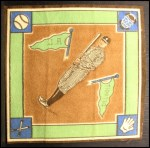 1914 B18 Blankets #14 BI  Ty Cobb  Back Thumbnail