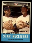 1963 Topps #306  Star Receivers    -  Earl Battey / Elston Howard Front Thumbnail