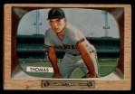 1955 Bowman #58   Frank Thomas Front Thumbnail
