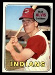 1969 Topps #145  Max Alvis  Front Thumbnail