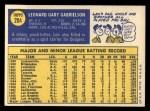 1970 Topps #204  Len Gabrielson  Back Thumbnail