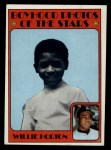 1972 Topps #494  Boyhood Photo  -  Willie Horton Front Thumbnail