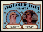 1972 Topps #392   Pirates Rookie Stars    -  Fred Camria / Richie Zisk Front Thumbnail