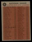 1962 Topps #56  NL ERA Leaders  -  Warren Spahn / Jim O'Toole / Curt Simmons / Mike McCormick Back Thumbnail