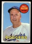1969 Topps #24 COR  Walter Alston Front Thumbnail
