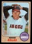1968 Topps #305  Minnie Rojas  Front Thumbnail