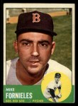 1963 Topps #28 WHT  Mike Fornieles Front Thumbnail