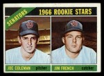 1966 Topps #333  Senators Rookies  -  Joe Coleman / Jim French Front Thumbnail