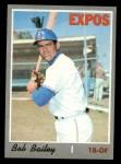 1970 Topps #293   Bob Bailey Front Thumbnail