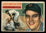 1956 Topps #28   Bobby Hofman Front Thumbnail