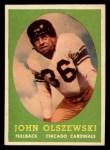 1958 Topps #107  John Olszewski  Front Thumbnail