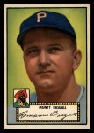 1952 Topps #12 BLK  Monty Basgall Front Thumbnail