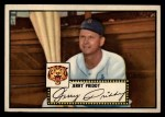 1952 Topps #28 BLK  Jerry Priddy Front Thumbnail