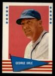 1961 Fleer #146   George Uhle Front Thumbnail