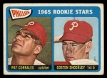 1965 Topps #107   Phillies Rookie Stars  -  Pat Corrales / Costen Shockley Front Thumbnail