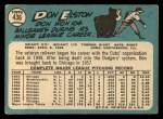 1965 Topps #436   Don Elston Back Thumbnail