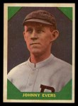1960 Fleer #57   Johnny Evers Front Thumbnail