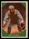1960 Fleer #56   Ray Schalk Front Thumbnail