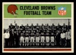 1965 Philadelphia #29   Cleveland Browns Team Front Thumbnail
