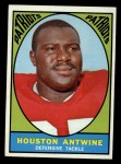 1967 Topps #7   Houston Antwine Front Thumbnail