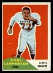 1960 #60  Carl Larpenter  Front Thumbnail