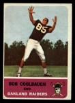 1962 Fleer #69  Bob Coolbaugh  Front Thumbnail