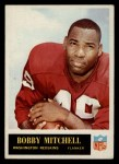 1965 Philadelphia #191  Bobby Mitchell  Front Thumbnail