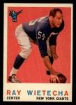 1959 Topps #99   Ray Wietecha Front Thumbnail