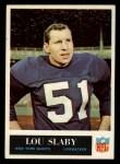 1965 Philadelphia #121  Lou Slaby   Front Thumbnail