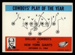 1965 Philadelphia #56  Dallas Cowboys  -  Tom Landry Front Thumbnail