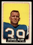 1964 Topps #156   George Blair Front Thumbnail