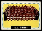 1964 Topps #110   Kansas City Chiefs Front Thumbnail
