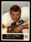 1965 Philadelphia #149  Ray Lemek   Front Thumbnail