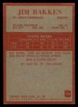 1965 Philadelphia #156  Jim Bakken  Back Thumbnail