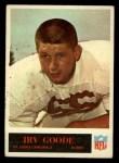 1965 Philadelphia #161  Irv Goode   Front Thumbnail