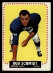 1964 Topps #83  Bob Schmidt  Front Thumbnail