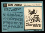 1964 Topps #51  Isaac Lassiter  Back Thumbnail