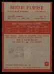 1965 Philadelphia #37   Bernie Parrish  Back Thumbnail