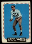 1964 Topps #128   Jeff Ware Front Thumbnail