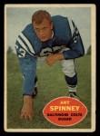 1960 Topps #7   Art Spinney Front Thumbnail