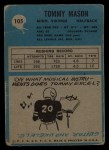 1964 Philadelphia #105  Tommy Mason   Back Thumbnail